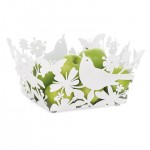 Floral Cut Bird Bowl