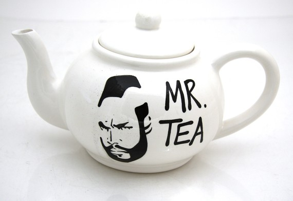 mr tea pot Mr. T Teapot