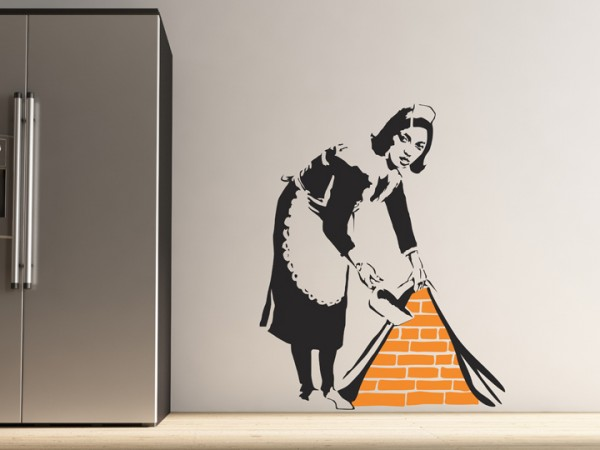 banksy sticker 600x450 Banksy Style Wall Sticker