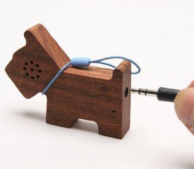 motz dog speaker Motz Wooden Pet Speaker