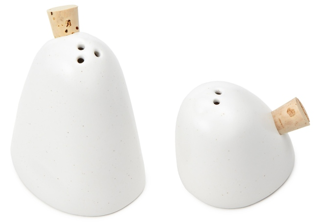 ghost salt Ghost Salt and Pepper Shakers
