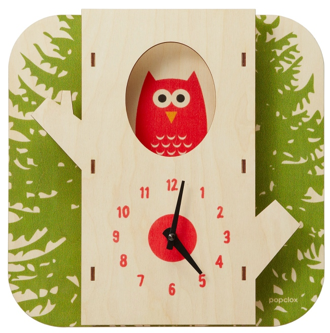 tree owl clock Tree Owl Clock