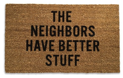 neighborsdoormatmain Neighbors Door Mat